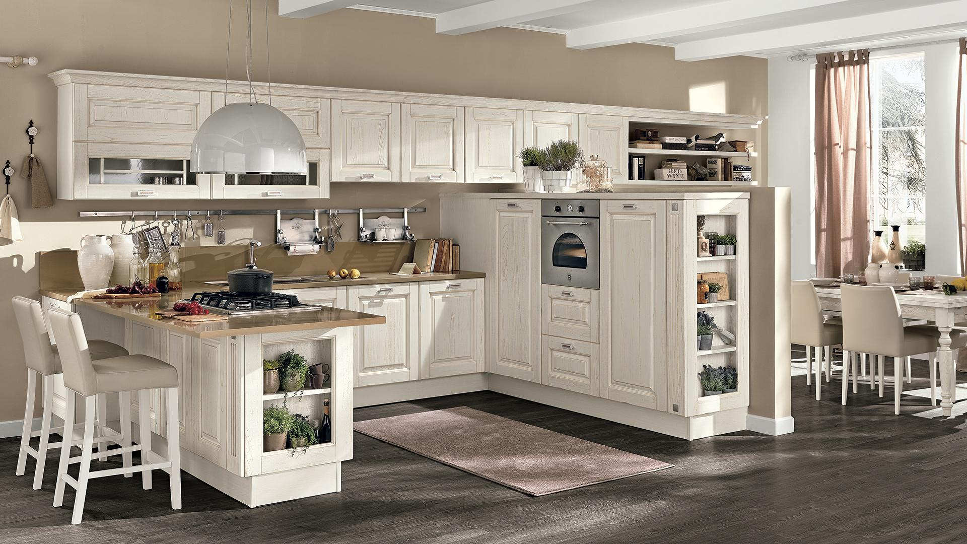Cucine lube laura arredalcasa - Carrelli per cucine ...
