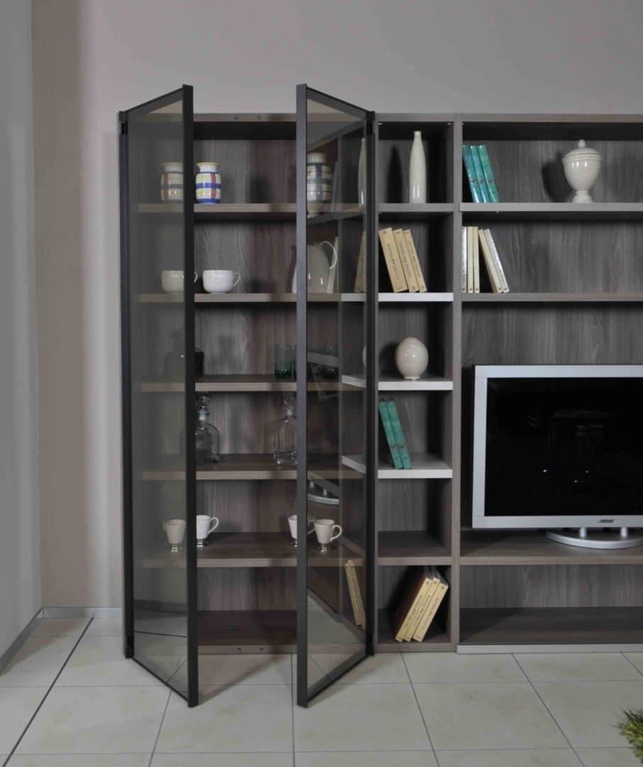 parete soggiorno libreria novamobili in offerta a torino - arredalcasa - Libreria Novamobili Soggiorno 2