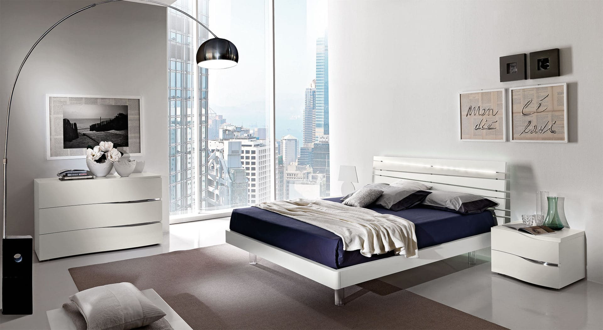 Awesome Camere Da Letto Moderne Economiche Ideas - bakeroffroad.us ...