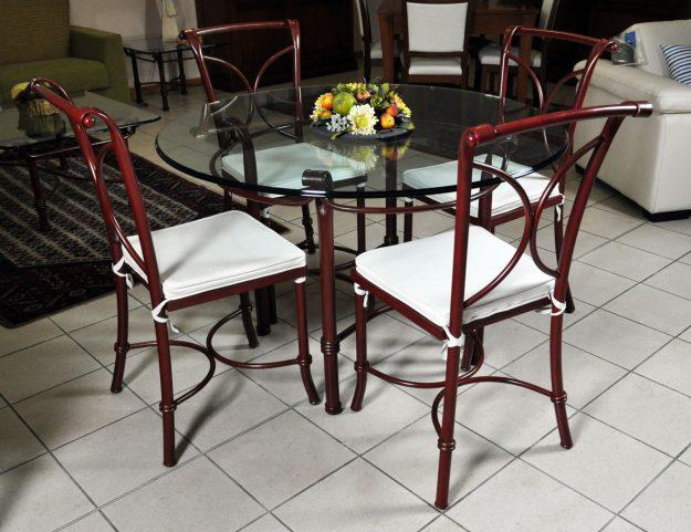 tavoli ferro battuto Archives - Arredalcasa