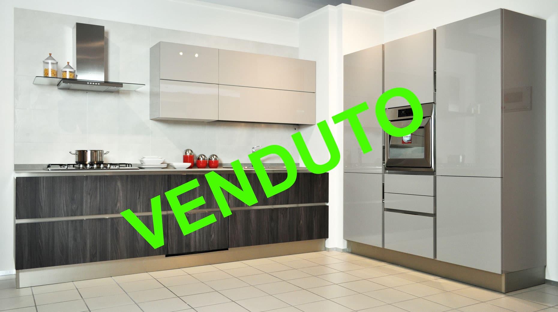 Veneta Cucine modello Start Time Go 28 laccata, super scontata a Torino