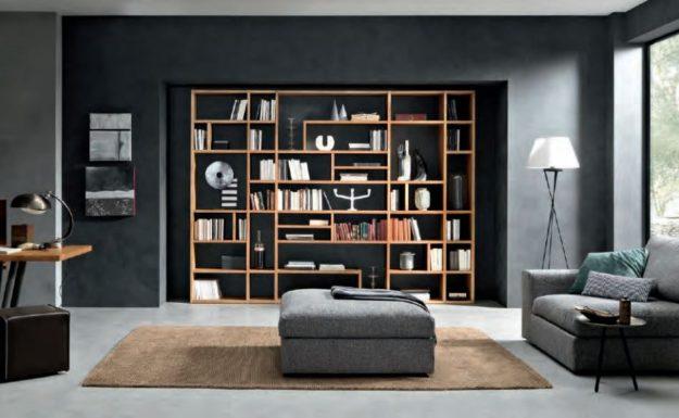 Pareti attrezzate librerie e ingressi delle migliori for Librerie pareti attrezzate